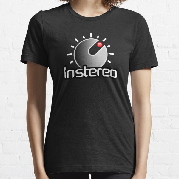 InStereo gradient centered Essential T-Shirt