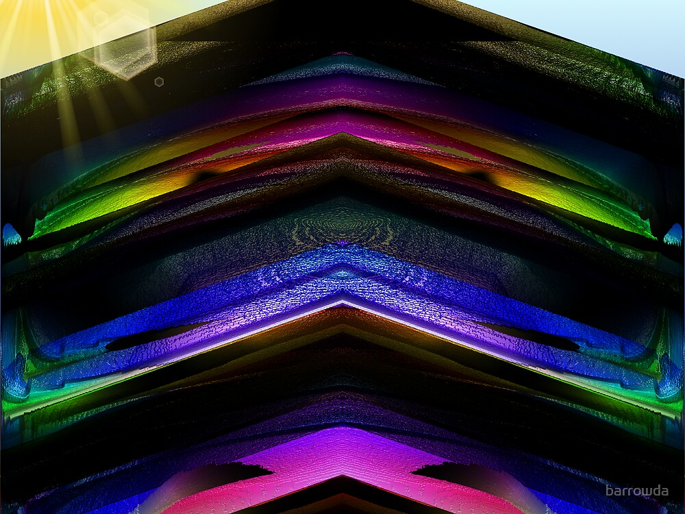 The Rainbow Pagoda  by barrowda