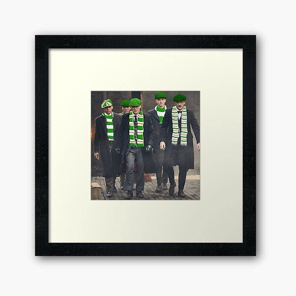 Glasgow Celtic fc fan Framed Art Print