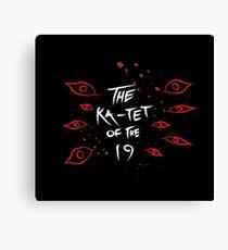 Ka-Tet of the 19 Canvas Print
