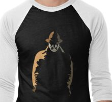 Rorschach  in the Shadows Men's Baseball ¾ T-Shirt