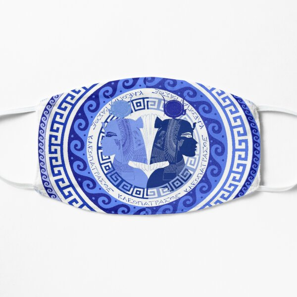 Egyptian Blue and White Cleopatra (SPODE INSPIRED) Mask