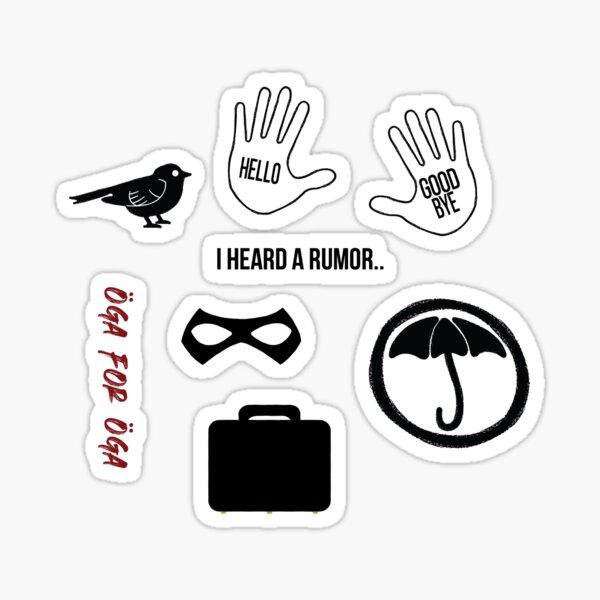 Pack d'autocollants Umbrella Academy Sticker