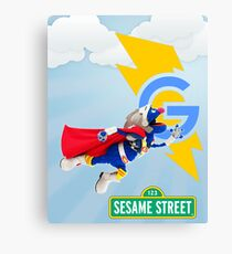 super grover  Canvas Print