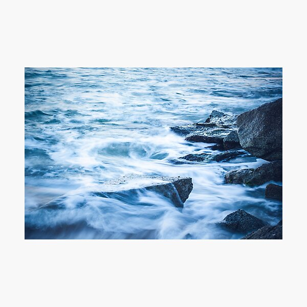Silky waves Photographic Print