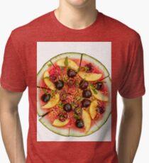 Vegan Pizza Tri-blend T-Shirt