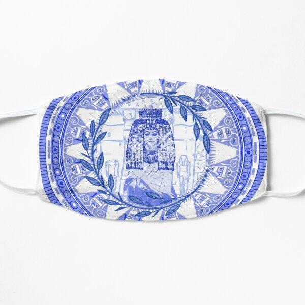 Egyptian Blue and White Queen Tiye (SPODE INSPIRED) Mask