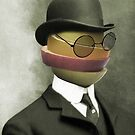 fruit face in a bowler by Vin  Zzep