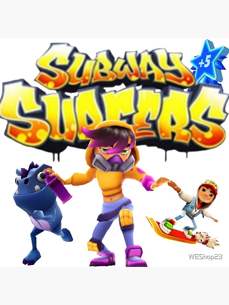 Subway surfers by WEShop23