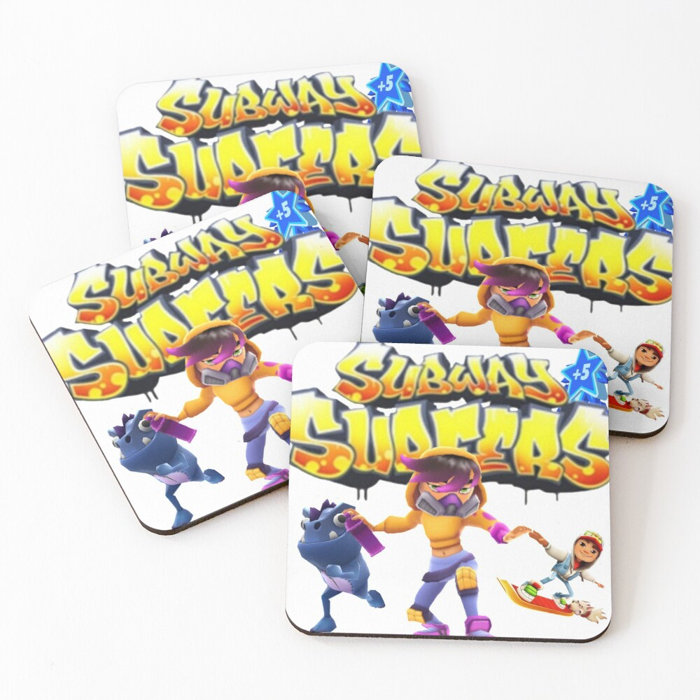 Subway surfers Coasters (Set of 4)