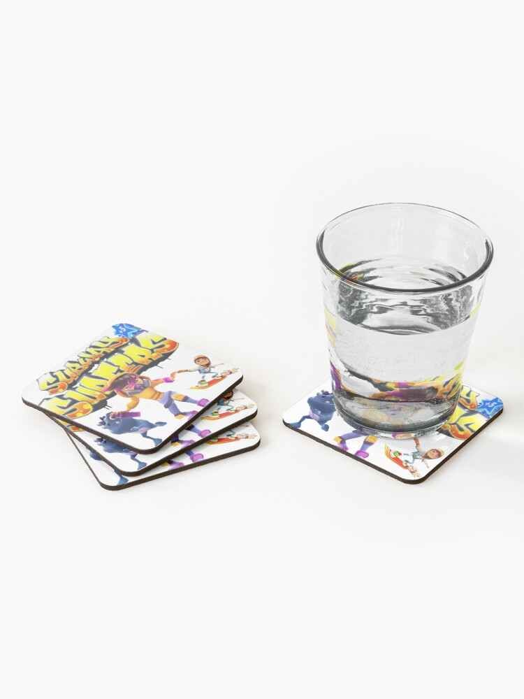 Alternate view of Subway surfers Coasters (Set of 4)