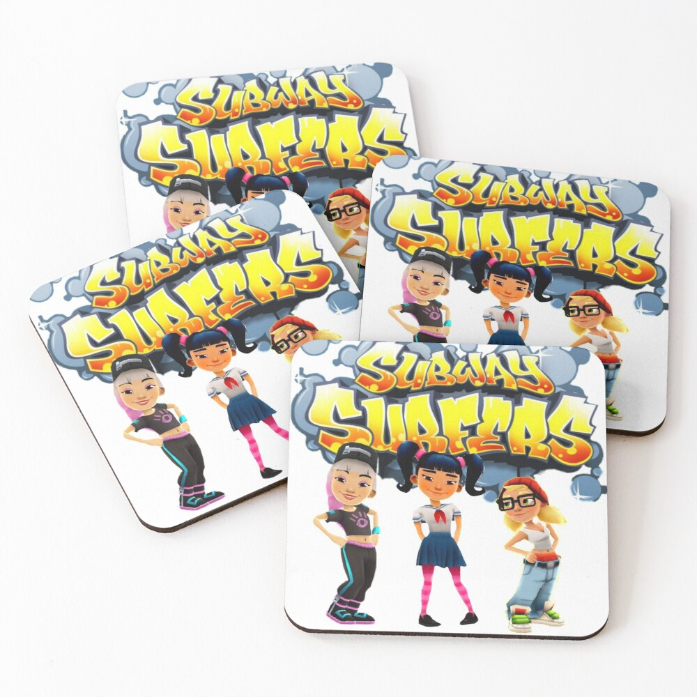 Sunway surfers the girls Coasters (Set of 4)