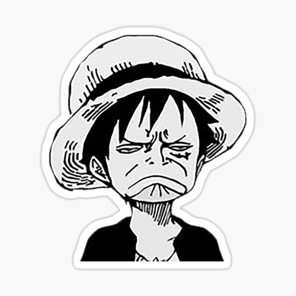 Luffy Sticker