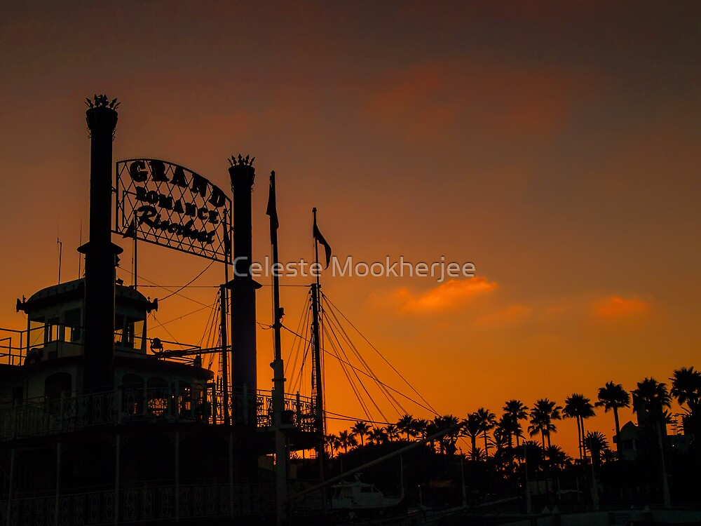 Romance at sunset by Celeste Mookherjee