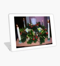 Advent Candles Laptop Skin
