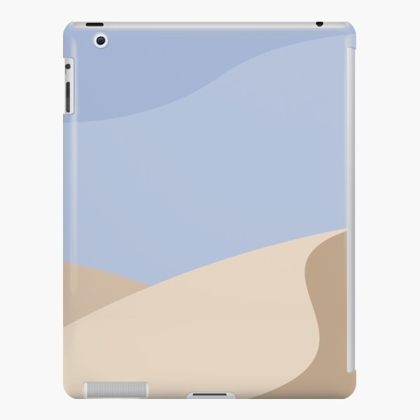 Minimalist yellow Sand Dune Desert iPad Snap Case