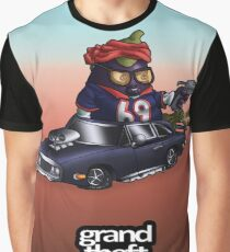 Grant Theft Aubergine Graphic T-Shirt