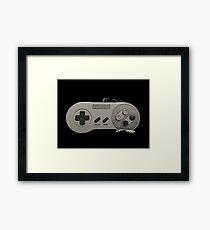 Super Nintendo Framed Print