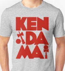 Kendama Block, red Slim Fit T-Shirt
