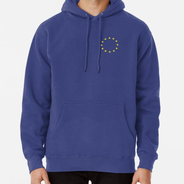 EU Small Badge Pullover Hoodie