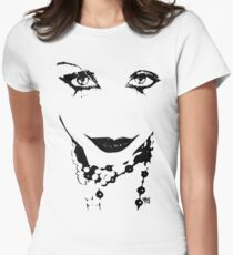"""Pearls"" - Arek Art Print Womens Fitted T-Shirt"