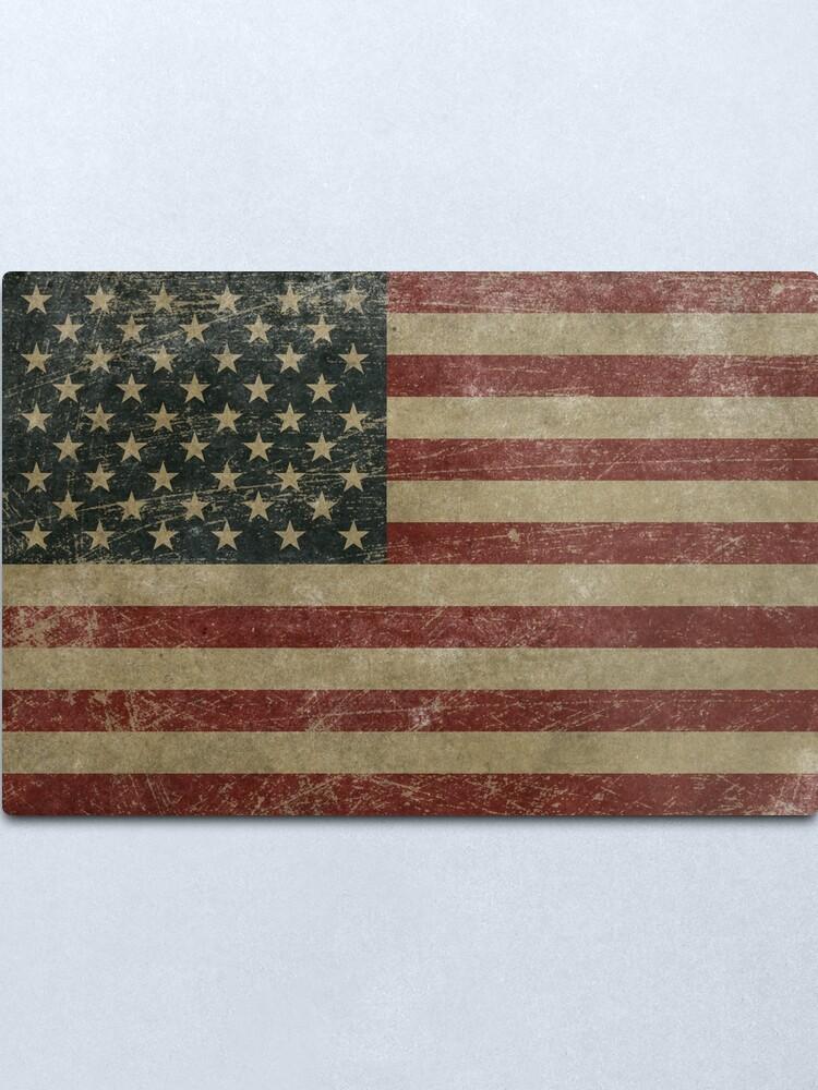 Alternate view of Vintage United Stages Flag Metal Print