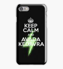 avada kedavra! iPhone Case/Skin