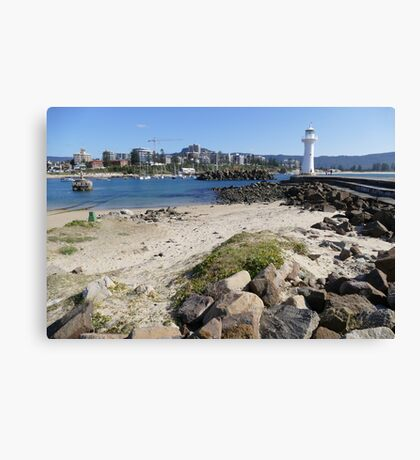 Wollongong boat harbour Canvas Print
