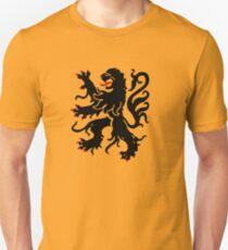 flanders lion sigil Unisex T-Shirt