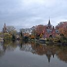 Bruges at Dusk by Sue Robinson