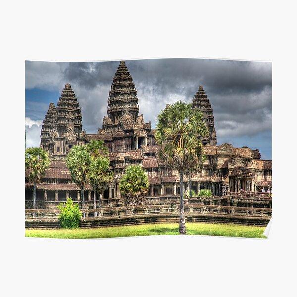 Angkor Wat Temple Cambodia Poster