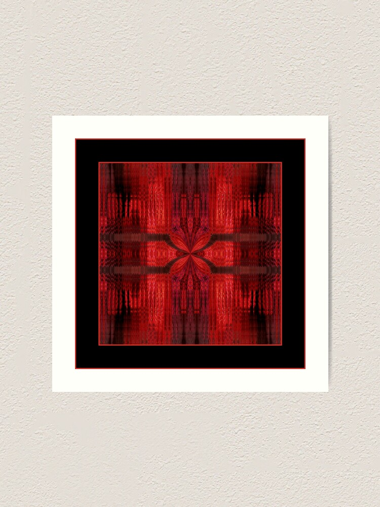 Alternate view of The Red Shawl Art Print