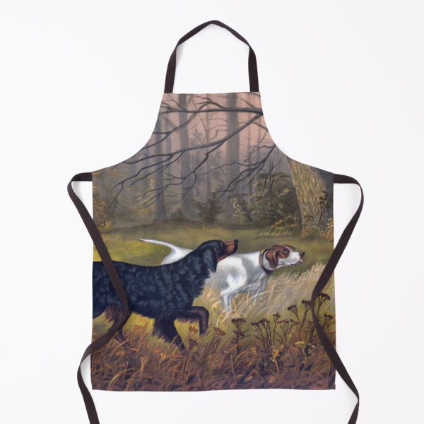 Autumn Hunting Dogs Apron