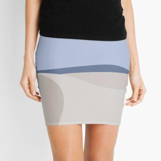 Minimalist White Sands Desert National Park New Mexico Mini Skirt