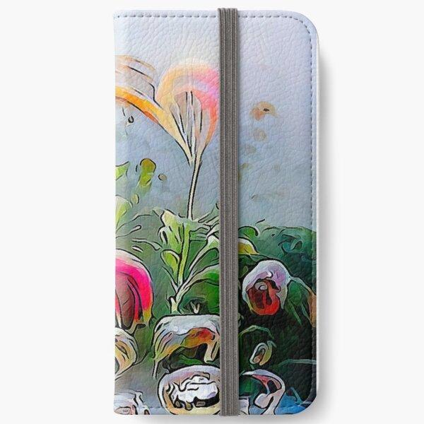 """ Organic Present "" iPhone Wallet"
