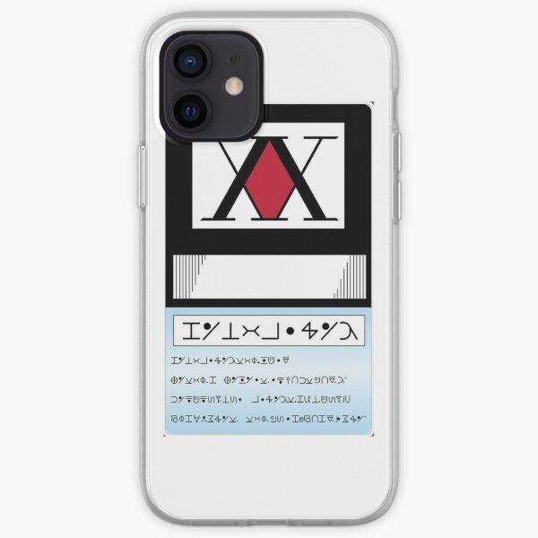 hunter license Coque souple iPhone