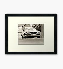 'The Professionals' Mk.3 Ford Capri 3.0s Framed Print