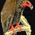 polite vulture can wait by bristlybits