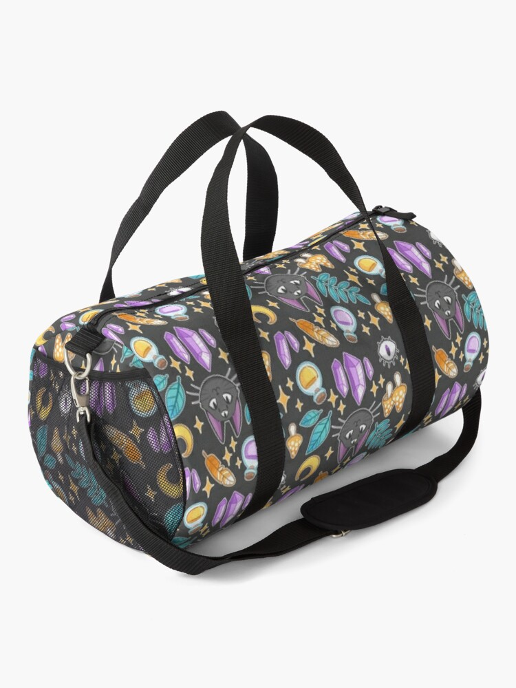 Alternate view of Witchy Cat Duffle Bag