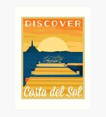 COSTA del SOL | FFXIV Art Print
