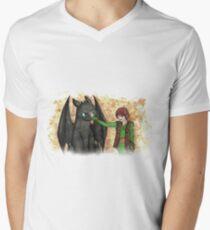 Friends. Mens V-Neck T-Shirt