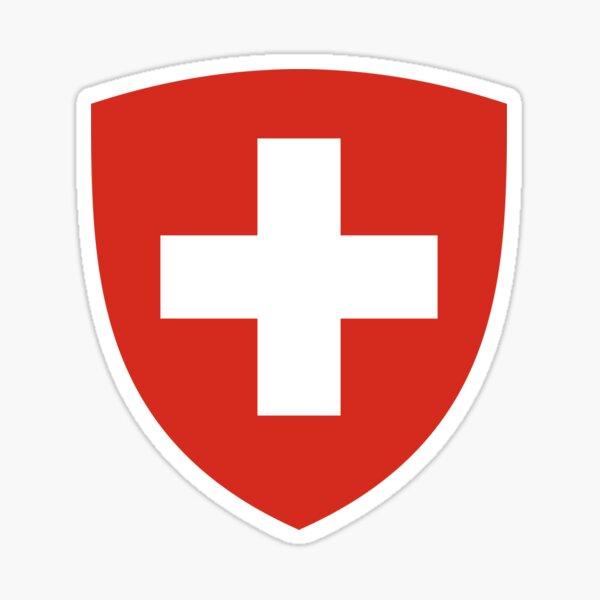 Coat of Arms of Switzerland  Sticker