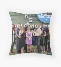 Olympic Coven Bella's Birthday Throw Pillow