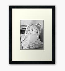 ANGEL OF GRIEF Framed Print