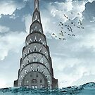 chrysler building water line by Vin  Zzep