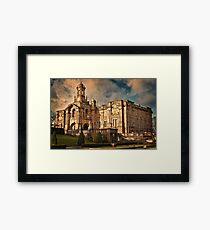 Evening Light at Cartwright Hall Framed Print