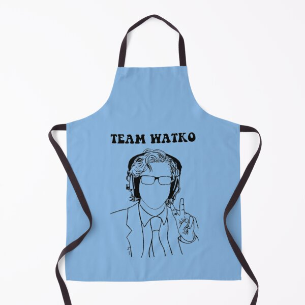 For friends and fans of British radio presenter, Watko.  Apron