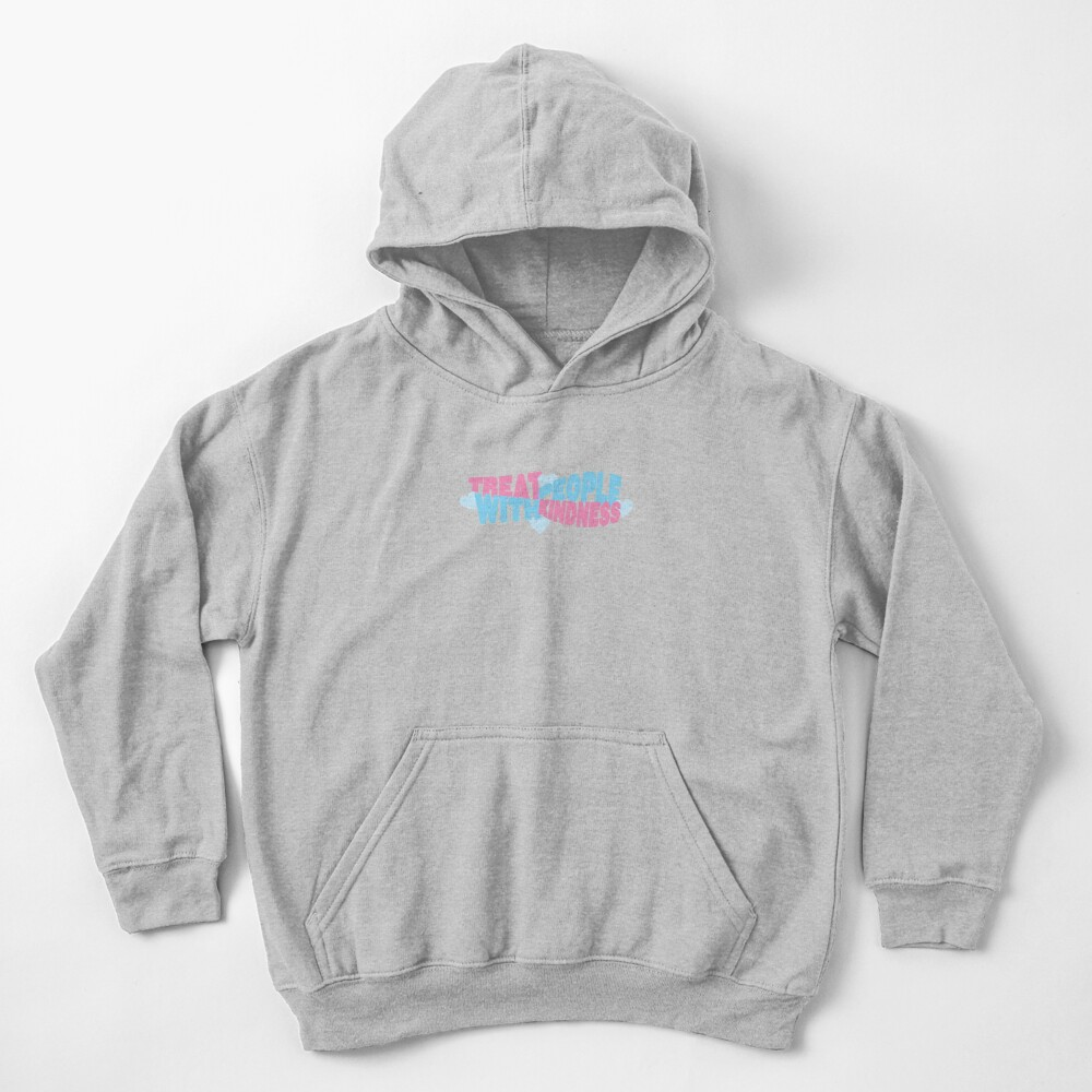 pink and blue tpwk Kids Pullover Hoodie