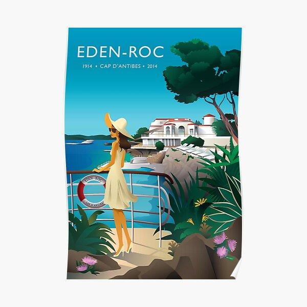 EDEN ROC VINTAGE Poster
