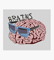 Cool Brains Photographic Print